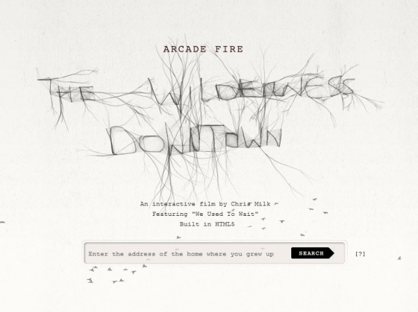 Arcade Fire Wilderness Downtown