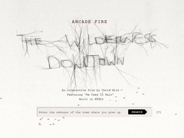 Arcade Fire Wilderness Downtown
