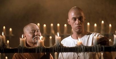Keye Luke, and David Carradine in Kung Fu, 1973.