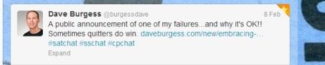 Dave Blog Announce