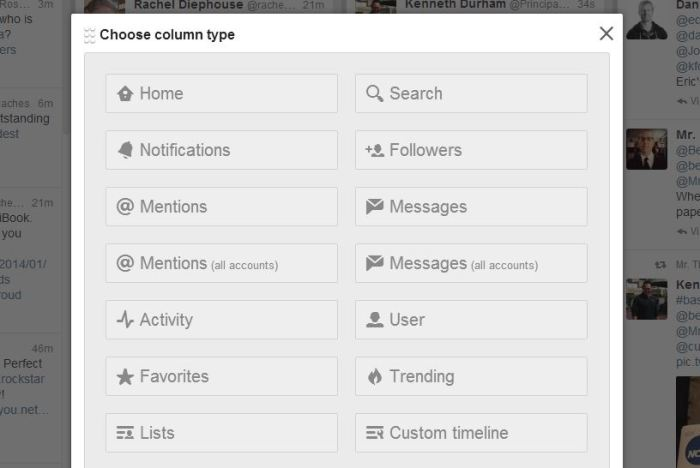 Add column user or list