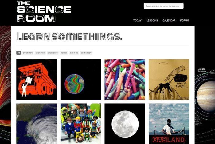 Science Room Website