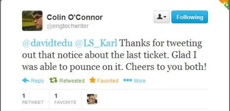 Colin last ticket