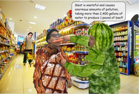 Vegan vs Meat