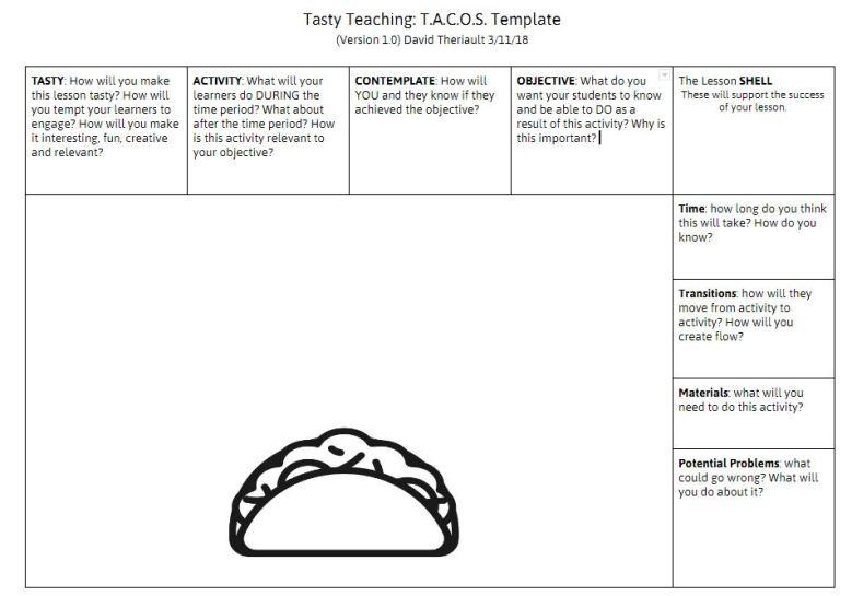 Teaching TACO version 1 Theriault
